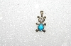 "MBA #S51-665   ""1980's Sterling March Bear Pendant"""
