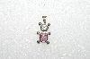 "MBA #S51-069   ""1980's Sterling October Bear Pendant"""