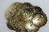 "MBA #S51-249   ""Lot Of 18 Gold Tone Round Metal Concho's"""