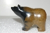 "**MBA #S25-287   ""Gemstone Hand Carved Bear"""