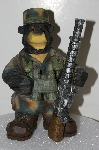 "**MBA #S25-292   ""2005 Soldier Bear Collection Figurine"""