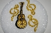 "MBA #S25-073    ""Lot Of 4 Hand Beaded Applique Pins"""