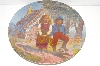 "**MBA #S30-279     ""1981 Gregory Perillo Hansel And Gretel Collectors Plate"""