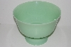 "MBA #S28-333   ""Reproduction Green Milk Glass Serving Bowl"""