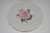 "+MBA #S28-162    "" Set Of 4  Throdore Haviland Regents Park ""Rose"" Dinner Plate"""