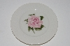 "+MBA #S28-173  Set Of 4   ""Theodore Haviland  Regents Park ""Rose"" Toast Plate"""