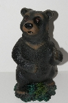 "MBA #S28-215      ""Art Line Black Bear Garden Ornament"""