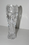 "MBA #S28-244   ""Older Crystal Rose Bud Vase"""