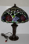 "**MBA #S19-037   ""Davita Rose Table Lamp With Black Marble Inlay"""