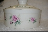+MBA #6807  Ceramic Country Casserole Dish With Matching Lid