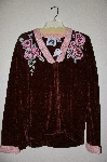 "MBAHB#19-024  ""Limited Edition Storybook Knits ""Cabbage Rose"" Sweater"