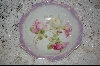 **Made In Germany Hand Painted Rose Bowl