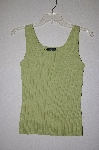 "MBADG #9-112  ""Cable & Gauge Petites  Green Knit Tank"""