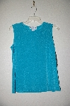 "MBADG #9-271  ""Ronni Nicole Turquoise Blue Stretch Tank"""