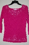 "MBADG #18-157  ""Felicity Fancy Hot Pink Beaded Sweater"""