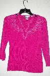 "MBADG #18-162  ""Felicity Fancy Hot Pink Beaded Sweater"""