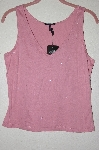 "MBADG #52-050  ""Daisy Fuentes Sequin Embelished Tank"""