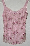 "MBADG #52-464  ""Sylvie & Mado Fancy Pink Lace Tank"""