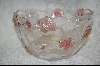 "MBA #S-LCGB   ""Large Clear Glass Rose Bowl"
