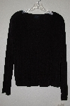 "MBADG #3-058  ""JKLA California Black Stretch Cardigan With Built In Tank"""