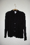 "MBADG #26-027 ""Coldwater Creek Black Stretch Button Front Cardigan"""