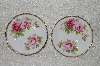 "+MBADG #31-102  ""Set Of 2 American Beauty Royal Albert Saucers"""