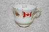 "+MBADG #31-117 ""Vintage The Flag & Maple Leaf Of Canada Tea Cup"""