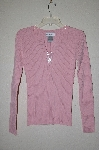 "MBAMG #25-360  ""Chadwicks Pink Button Top Sweater"""
