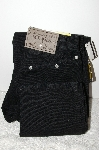 "MBAMG #25-138  Size 7/ 28"" Long ""Rockies ""Black"" American Straight Leg Jeans"""