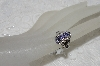 "MBAMB #25-232  ""14K White Gold Tanzanite & Diamond Ring"""