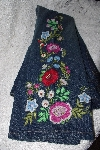 "MBANF #392 Size 6/ 32"" Long  ""Boston Proper Fancy Floral Embroidered Jeans"""