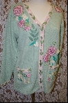 "*MBA #7896   ""StoryBook Knits Limited Edition Pale Green ""RN"" Sweater"