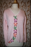 "MBA #7884  ""StoryBook Knits Limited Edition Light Pink Butterfly Sweater"
