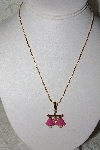 "**MBAMG #11-0848  ""Bob Mackie Enameled Libra Zodiak Pendant With 18"" Chain"""