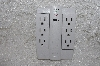 "MBAMG #79-161  ""Set Of 2 '6 Outlet Surge Protector Swivel Outlets"""